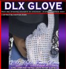 FANCY DRESS # DELUXE REPLICA GEM STONE MICHAEL JACKSON BILLIE JEAN GLOVE RRP £21.99